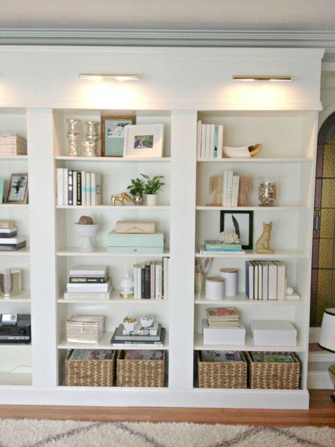 Tv Built Bookcases Ikea Hack
