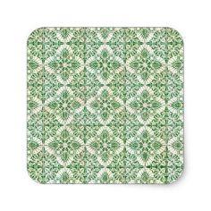 Ceramic Tile Square Stickers