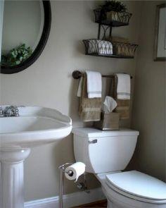 Creative Bathroom Storage Ideas