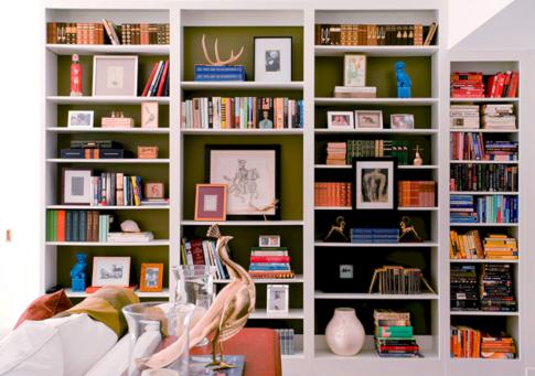 Decorative Bookshelves