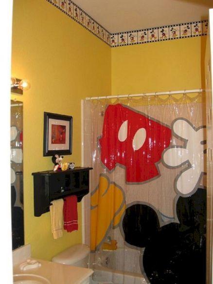Disney Mickey Mouse Bathroom