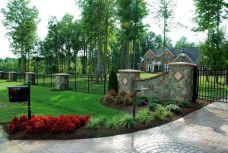 Driveway Entrances Landscaping