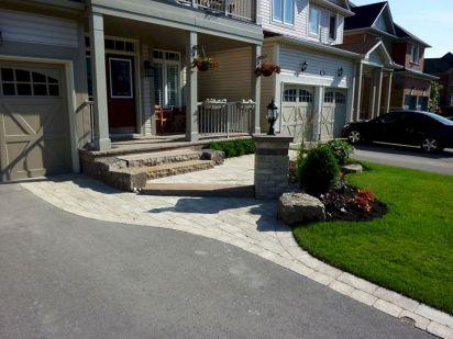 Front Driveway Entrance Landscape Designs