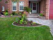 Front Yard Entrance Landscaping
