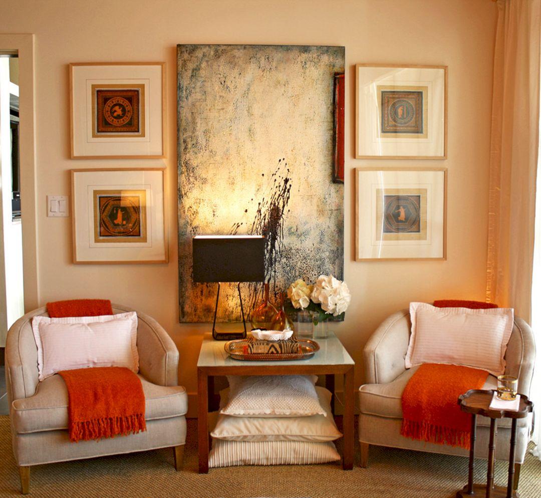 Light Orange Living Room Ideas