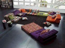 Living Room Pillow Floor Cushions