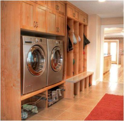 Mudroom Laundry Room Idea