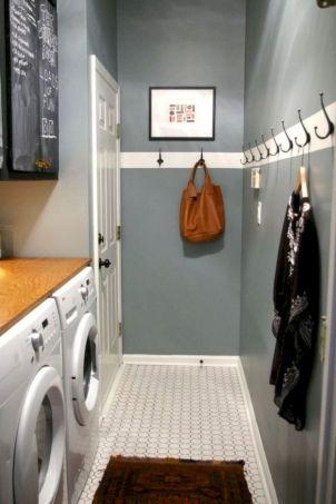 Narrow Laundry Room
