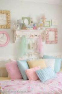 Pastel Colors Girls Room Decor