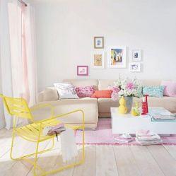 Pastel Living Room Ideas