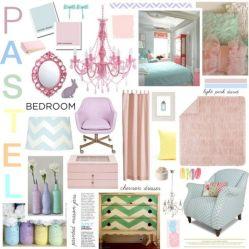 Pastels Bedroom