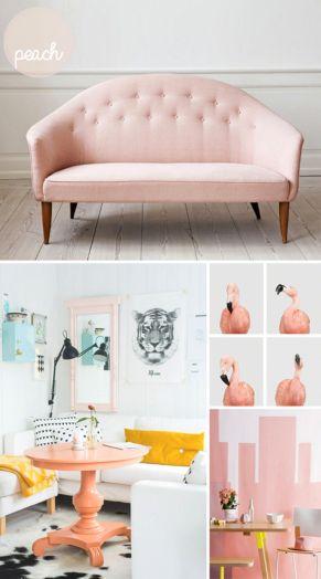 Peach Pastel Room Colors