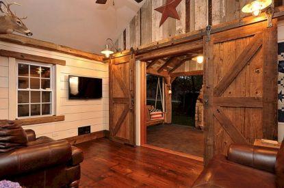 Rustic Barn Door Idea