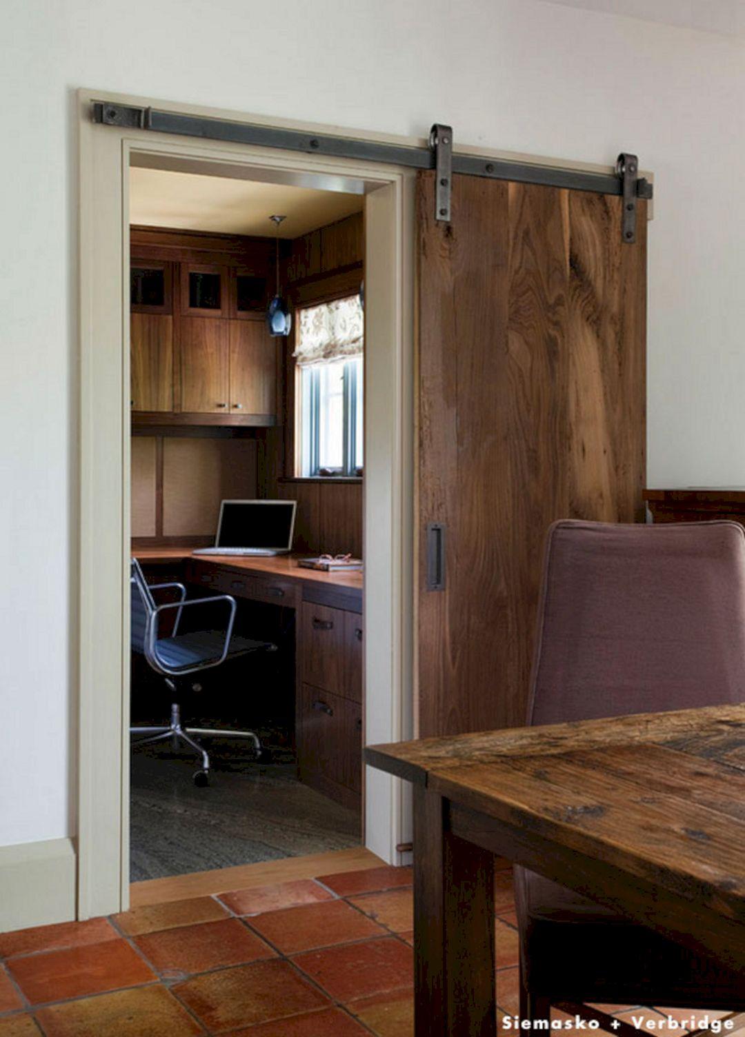 Rustic Sliding Barn Door Ideas