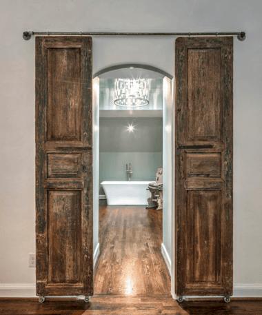 Sliding Barn Door Bathroom