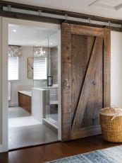 Sliding Barn Door Bathrooms