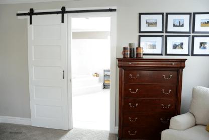 Sliding Barn Door Interior