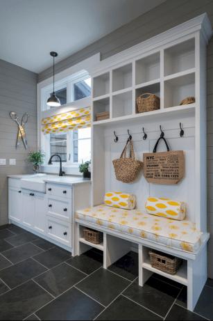 Small Laundry Mud Room