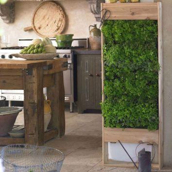 Vertical Wall Herb Garden