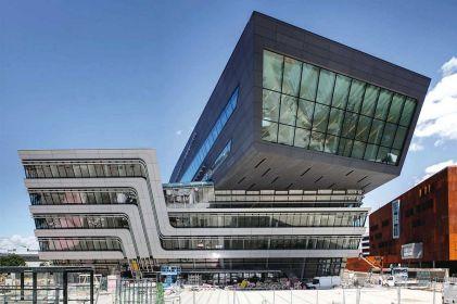 Vienna Zaha Hadid Library And Learning Center