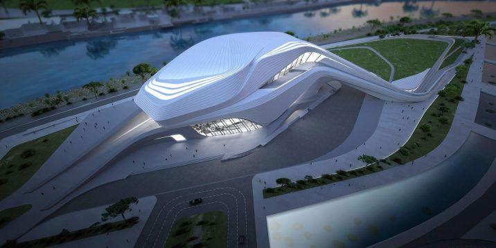 Zaha Hadid Architects Building