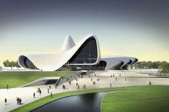 Zaha Hadid Building Architeture