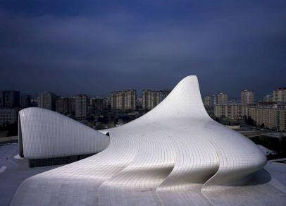 Zaha Hadid Heydar Aliyev Cultural Center In Baku