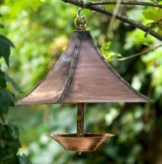 Antique Copper Bird Feeder