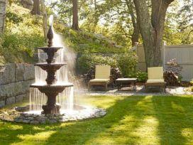 Garden Fountain Styles Ideas
