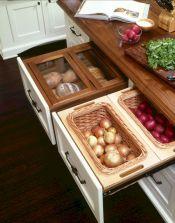 Kitchen Vegetable Storage