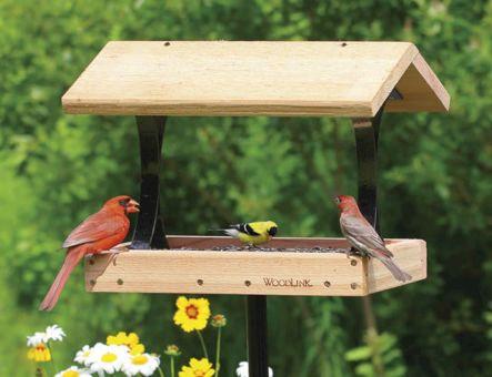 Large Platform Bird Feeders