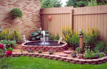 Outdoor Water Fountain For Garden Ideas