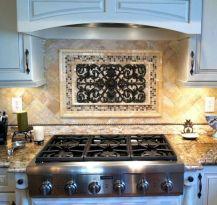 Rustic Metal Kitchen Backsplash Tile