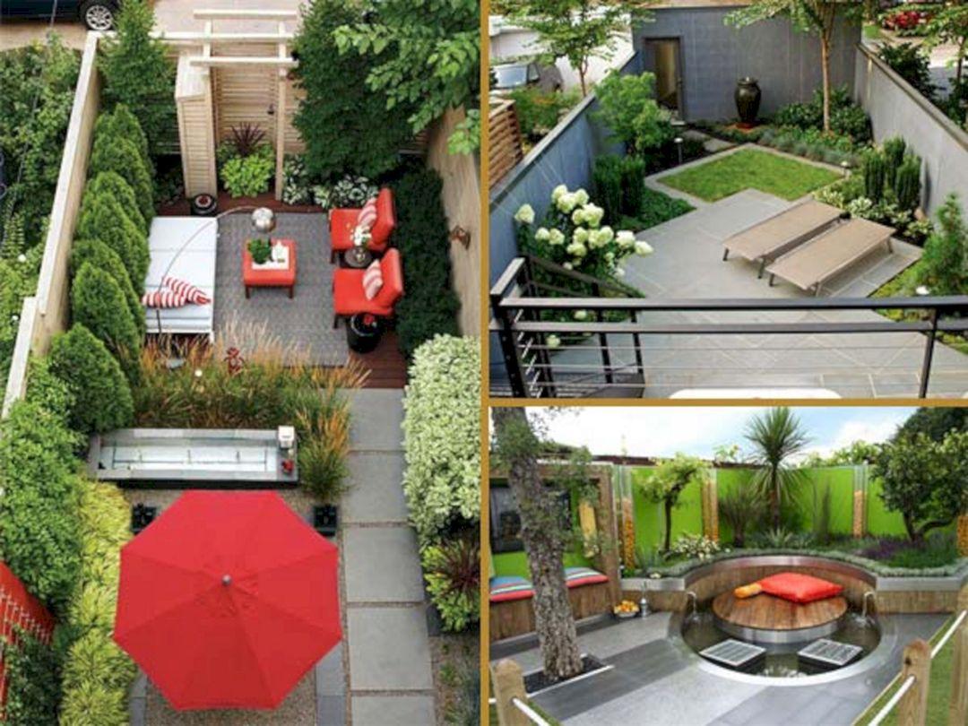 Small Back Yard Landscaping Ideas (Small Back Yard ... on Tiny Back Garden Ideas id=75228