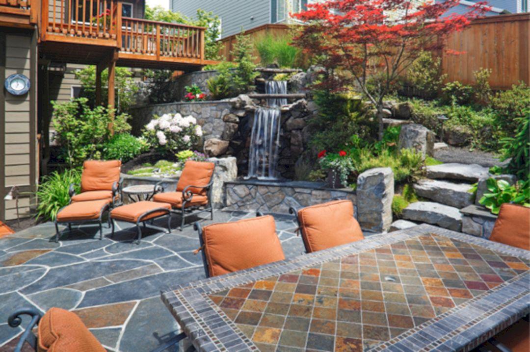 Small Backyard Stone Patio Ideas (Small Backyard Stone ... on Small Backyard Stone Patio Ideas id=73456