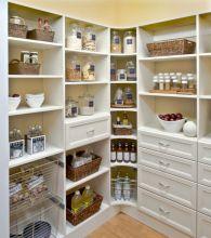 Traditional Kitchen Pantry Organization