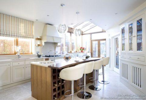White Bar Stool Kitchen Island Ideas