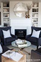 White Wood Fireplace Surround Ideas 10
