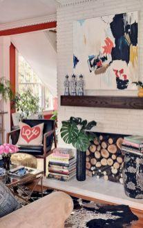 White Wood Fireplace Surround Ideas 12