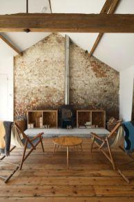 White Wood Fireplace Surround Ideas 8
