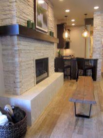 White Wood Fireplace Surround Ideas 9