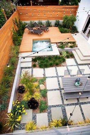 Back Yard Landscape Design