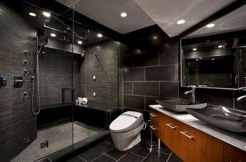 Bathroom Tile Designs With Black