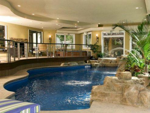Beautiful Indoor Swimming Pool