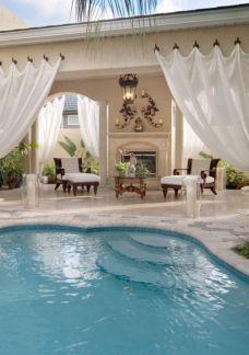 Beautiful Outdoor Pool Area