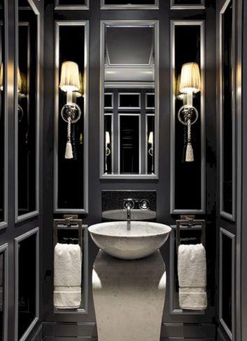 65+ Best Black Bathrooms Interior Ideas For Cool Bathroom Design ...