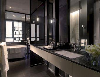 Black And White Master Bathroom Ideas