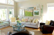Cottage Lake House Living Room