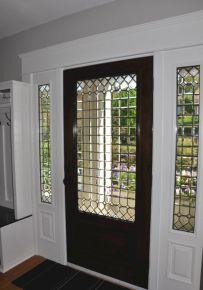 Front Door With White Trim Interior