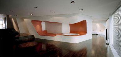 Interior Design Concept Futuristic